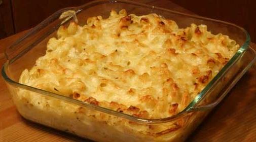 Easy Baked Mac 'n Cheese